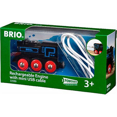 £23.95 • Buy BRIO 33599 Rechargeable Engine With Mini USB Cable For Wooden Train Set