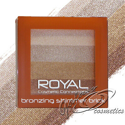 Royal Bronzing Shimmer Brick Bronzer Highlighter Face Contouring Powder Compact • 3.85£