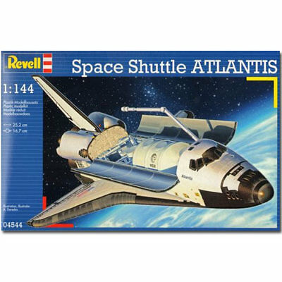 REVELL Space Shuttle Atlantis 1:144 Aircraft Model Kit - 04544 • 18.95£
