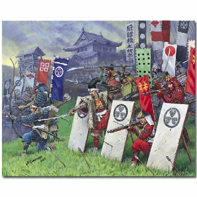 ZVEZDA 8017 Samurai Warriors Model Kit 1:72 • 9.98£