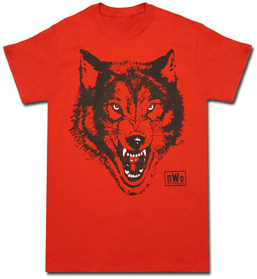 $ CDN30.01 • Buy NWO New World Order Wolfpac Logo Adult Red T-shirt