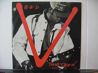 B.A.D. V. Thirteen / Hollywood Boulevard 12  VINYL Free UK Post • 10.80£