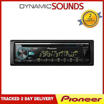 Pioneer DEH-X7800DAB CD MP3 Bluetooth Car Stereo DAB+ Tuner IPhone Android Ready • 119.99£
