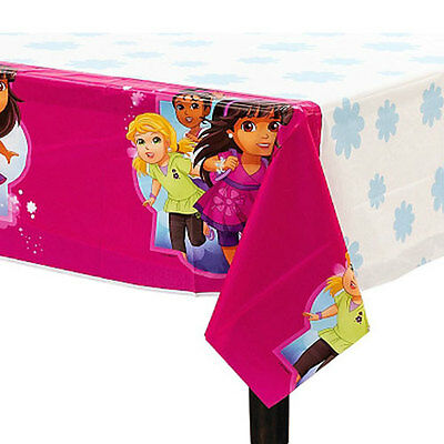 DORA THE EXPLORER AND FRIENDS PLASTIC TABLE COVER ~ Birthday Party Supplies Pink • 4.94£