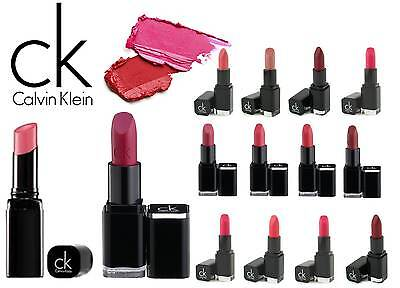 £3.99 • Buy Calvin Klein Delicious Luxury Creme / Moisturising Lipstick Free Lipliner Choose