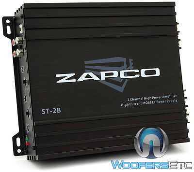 $ CDN131.81 • Buy Zapco St-2b Amp 2-channel 200w Rms Component Speakers Class Ab Car Amplifier New