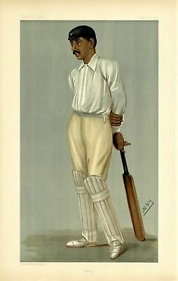 Cricket Finest Bat In The World Ranji Eduacated At Trinity And Cambridge Cricket • 275.41£