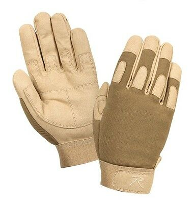 $17.99 • Buy Rothco 3421 Men's Lightweight All Purpose Gloves -Coyote Tan