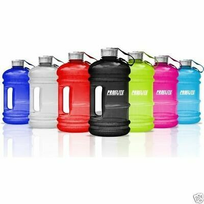 Large 2.2Litre BPA-Free Sport Gym Half Gallon Training Workout Water Bottle • 6.99£