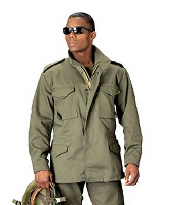 $96.99 • Buy Rothco 8238 Men's M-65 Field Jacket/Coat - Removable Liner - Olive Drab