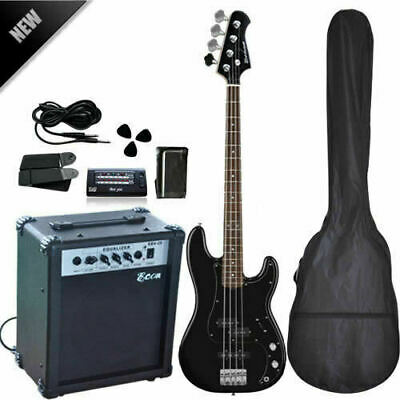 AU179 • Buy Electric Bass Guitar With AMP Tuner Picks Cord