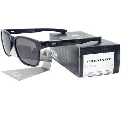 AU139.99 • Buy Oakley OO 9272-08 Catalyst Black Ink Frame With Warm Grey Lens Mens Sunglasses