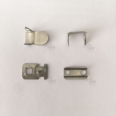 £1.85 • Buy Small Hook And Bar Fasteners 4 Part Sets Trouser Skirt & Tunic  Fasteners