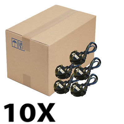 Lot 10X 1.5m C5 UK Mickey Mouse Clover Leaf Laptop Mains Power Cable UKDC • 17.46£