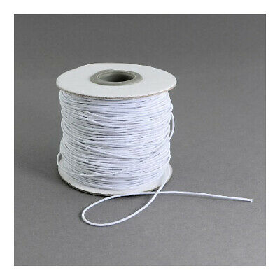 $ CDN5.31 • Buy Elastic String Cord White 10M Continuous Length 1mm Thick