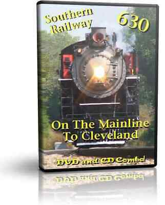 £17.71 • Buy Southern Railway 630 Mainline To Cleveland - DVD And CD Train SOUNDS