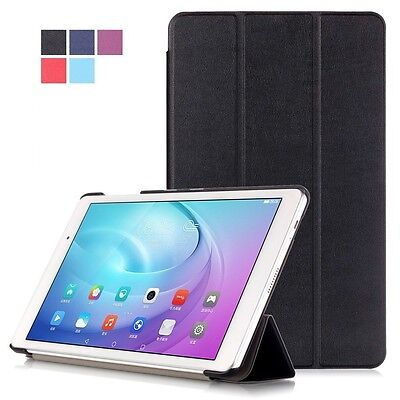 Premium PU Leather Case Cover For Huawei MediaPad T2 Pro 10 Tablet Device • 5.99£