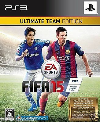 £46.65 • Buy Used PS3 FIFA 15 ULTIMATE TEAM EDITION  SONY PLAYSTATION 3 JAPAN JAPANESE IMPORT