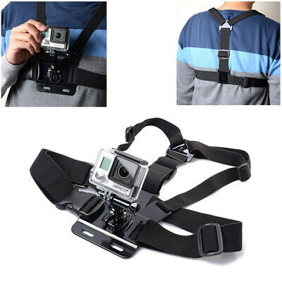 £5.98 • Buy Body Chest Strap Harness For GoPro Mount Support GoPro Hero Sports Action Camera