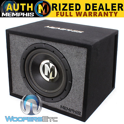 $249.99 • Buy Memphis 12  Car Sub 600w + Loaded Subwoofer Bass Speaker Ported 100% Mdf Box New
