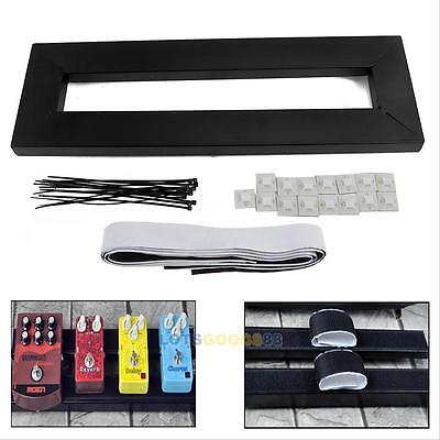 $ CDN37.14 • Buy Electric Guitar Pedal Boards Effects Pedal Board Cases + Adhesive Tape 40 X 13cm