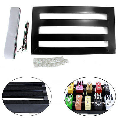 $ CDN76.45 • Buy Electric Guitar Pedal Boards Effects Pedal Board Cases + Adhesive Tape 37 X 27cm