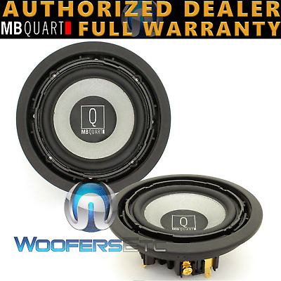 $ CDN441.59 • Buy Mb Quart Qwc-100 4  Q Midrange Speakers From Qsc-210 Made In Germany Pair New