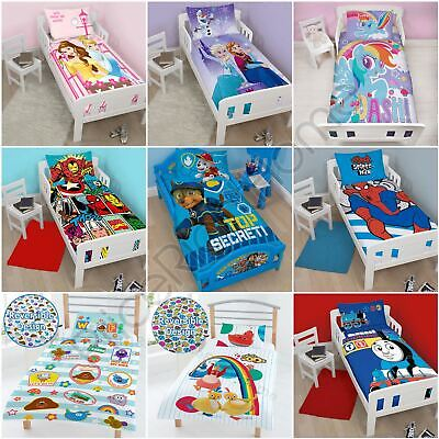 £14.90 • Buy Character Junior Duvet Cover Sets Bedding - Paw Patrol Marvel Toy Story