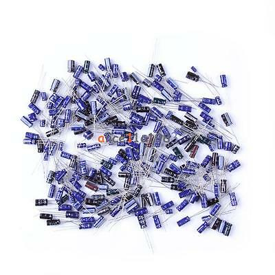 $5.79 • Buy 210Pcs 25 Value 0.1uF-220uF Electrolytic Capacitors Condenser Assortment Kit Set