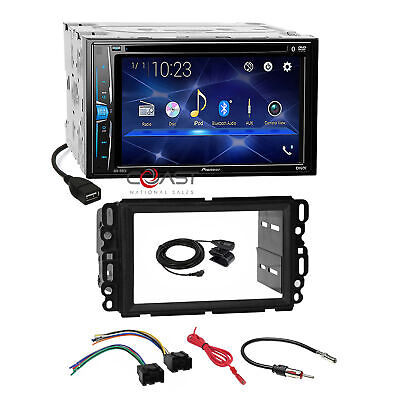 $214.95 • Buy Pioneer DVD USB BT Stereo Dash Kit Harness For 2006+ Buick Chevy GMC Saturn