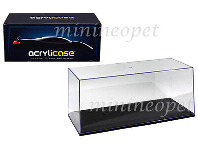 £14.48 • Buy Acrylicase 14003 Clear Display Show Case For 1/18 Diecast Model Car Black Base