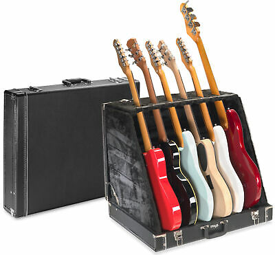 $ CDN218.35 • Buy STAGG UNIVERSAL MULTI GUITAR STAND CASE - HOLDS 6 ELECTRIC Or 3 ACOUSTIC GUITARS