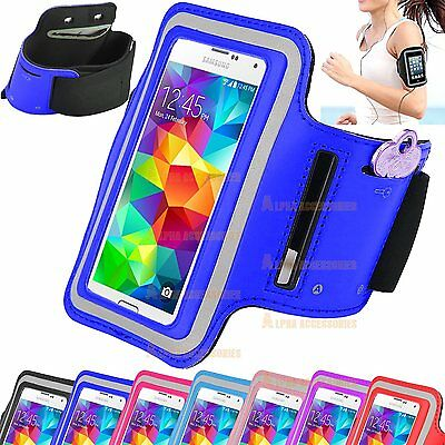 Sport Armband Jogging Gym Running Pouch Case Cover For Galaxy S5,S6,S7,S6 Edge • 2.98£
