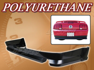 $249 • Buy Sport Style Polyurethane PU Add-On Rear Bumper Lip For 05-09 For Mustang V6