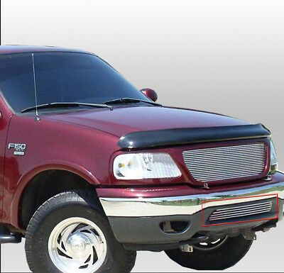 $29.95 • Buy 99-03 Ford F-150/99-02 Expedition 4wd Front Bumper Billet Grille Grill Insert