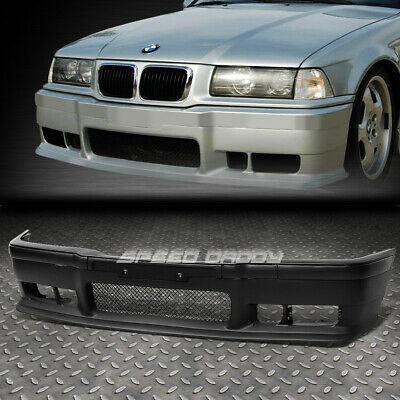$111.88 • Buy For 92-98 Bmw E36 3series 1pc M3 Style Replacement Front Bumper Body Kit+grille