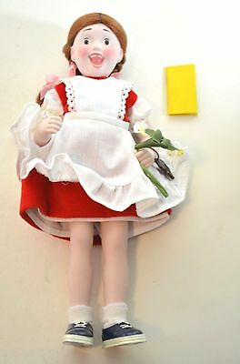 $14.99 • Buy Norman Rockwell SUZY Porcelain Character Doll Rumbleseat Handcrafted Germany NEW