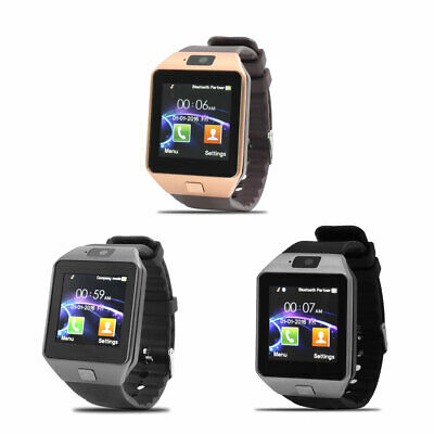 AU87.92 • Buy DZ09 Camera Anti-lost SIM Card MP3 Player Smart Watch For IOS Android Phone