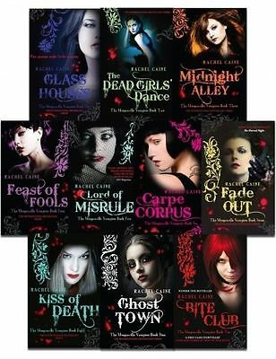 £177.36 • Buy Morganville Vampires 10 Books Collection By Rachel Caine Book 1 To 10- New
