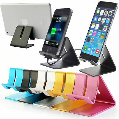 $4.97 • Buy Universal Aluminum Desktop Desk Stand Holder Mount For Cell Phone And Tablet