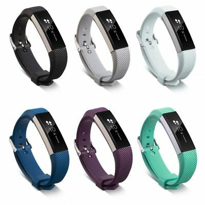 AU7.20 • Buy For Fitbit Alta/ Fitbit Alta HR Silicone Replacement Wristband Watch Band Strap