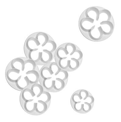 PME 5 PETAL FLOWER Plastic Cut Out Cutter For Sugarcraft Icing Cake Decorating • 2.39£