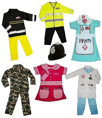 £9.95 • Buy Girls Boys Dress Up Role Play Childrens Kids Party Outfit Fancy Dress AGES 3-7