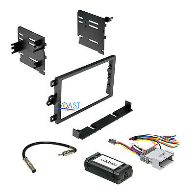 $52.95 • Buy Car Radio Stereo Double Din Dash Kit Interface Harness For 2000-up GM Chevrolet
