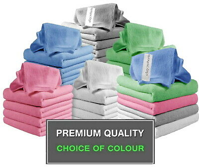 £3.99 • Buy 5 X Microfibre Cloths, Kitchen Cleaning & Car Polishing Drying Duster Towels