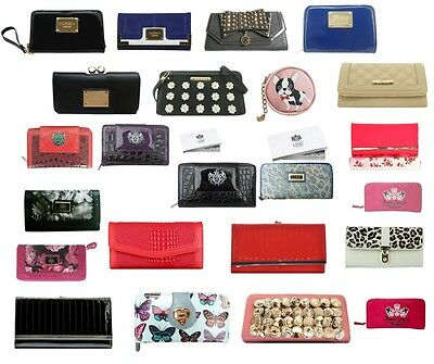 Patent Faux Leather Croc Mixed Fashion Purses Wallets Designer Inspired Womens • 6.99£