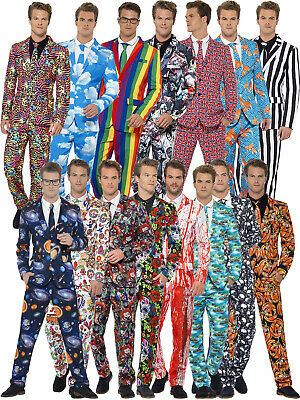 AU75 • Buy Mens Stand Out Suit Stag Do Fancy Dress Party Outfit Funny Comedy Costume Adult