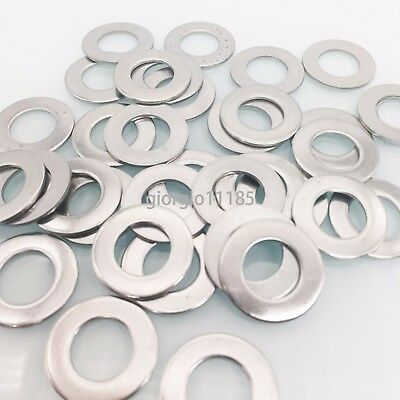 $10.42 • Buy US Stock 50pcs M12 12mm 304 Stainless Steel Metric Flat Washer Washers