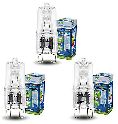 £8.99 • Buy Eco Halogen G9 Energy Saving Light Bulbs Replacement For 25W 40W 60W G9 Halogens