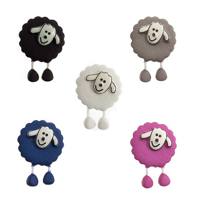 £2.45 • Buy 18mm Dangly Legged Sheep Cute Animals Novelty Button 28 Lignes